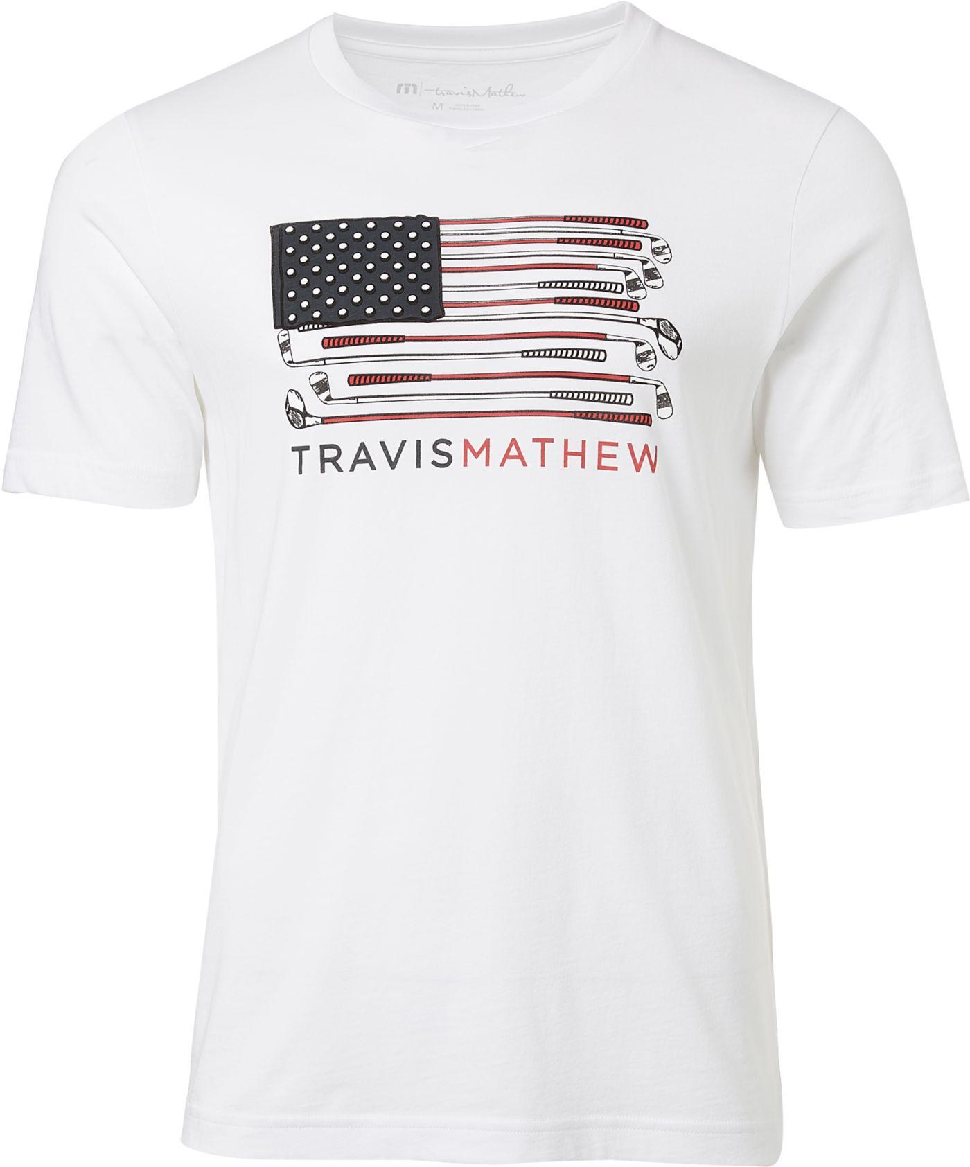 TravisMathew Men's The Stashe Golf T-Shirt