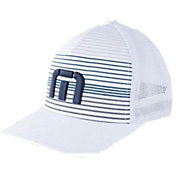 TravisMathew The Executive Mesh Back FlexFit Golf Hat