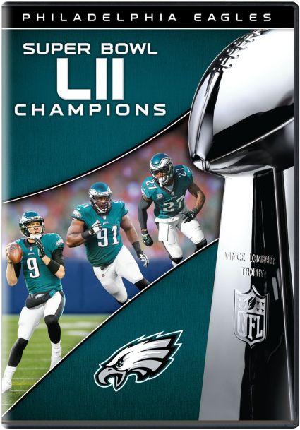 53e954286 Super Bowl LII Champions Philadelphia Eagles DVD. noImageFound