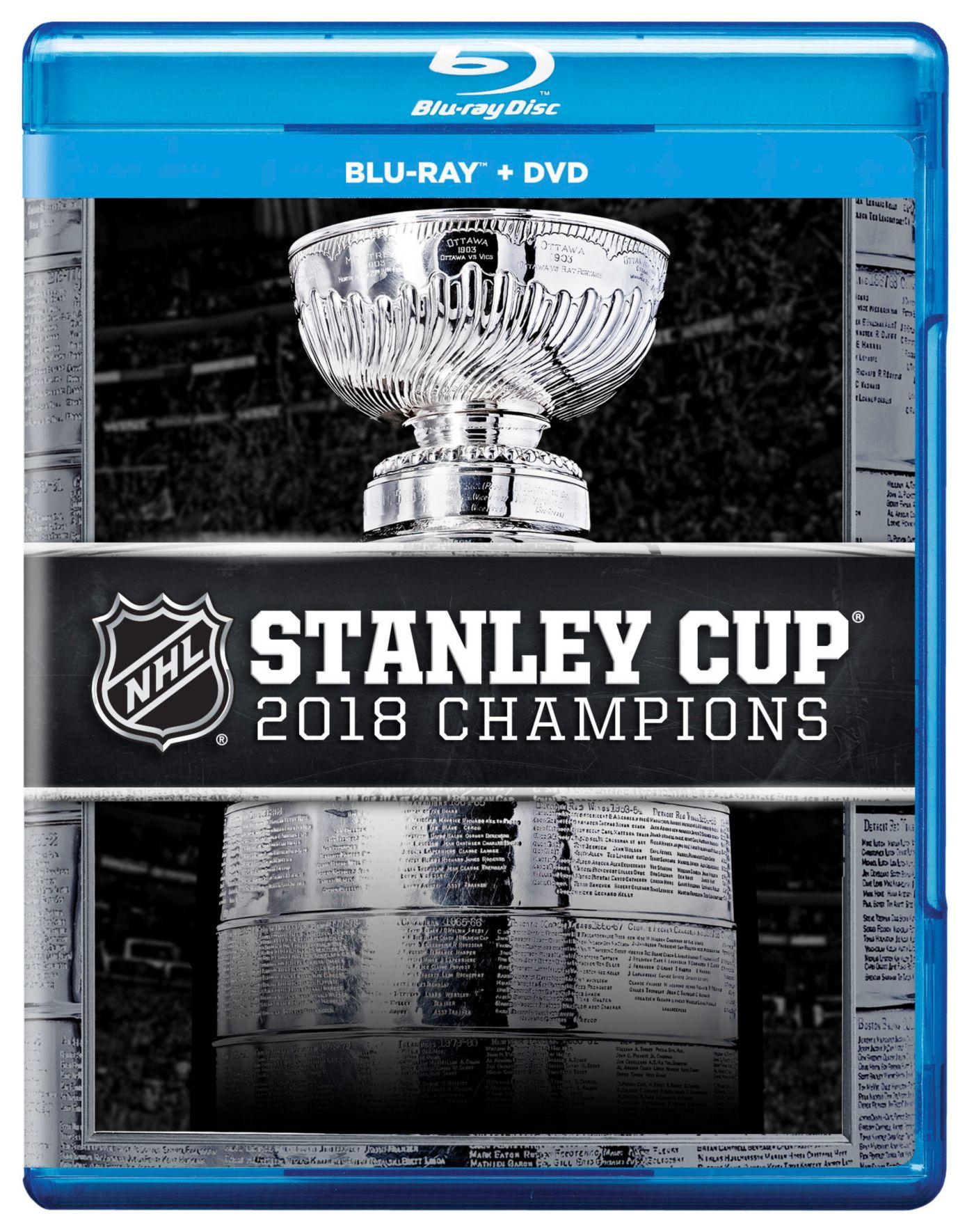 2018 Stanley Cup Champions Washington Capitals DVD & Blu-Ray Combo