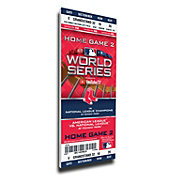 That's My Ticket 2018 World Series Champions Game 2 Boston Red Sox Framed Mega Ticket