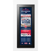 That's My Ticket 2018 World Series Champions Boston Red Sox Framed Ticket Print