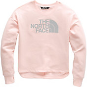The North Face Girls' Logowear Crop Crew Pullover