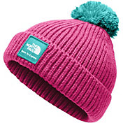 The North Face Infant Baby Box Logo Pom Beanie