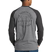 The North Face Men's Big Bear Baseball Tri-Blend Long Sleeve Shirt