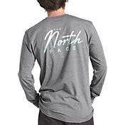 The North Face Men's 90's Script Long Sleeve Shirt