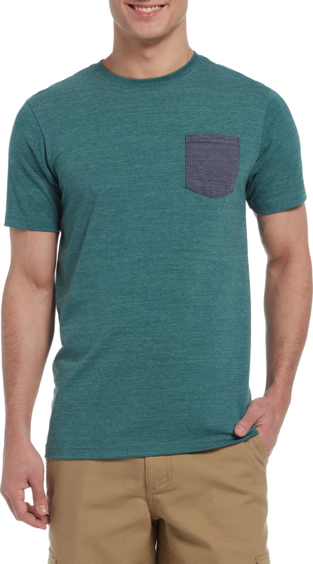 41a0eddee The North Face Men's Tri-Blend Pocket T-Shirt