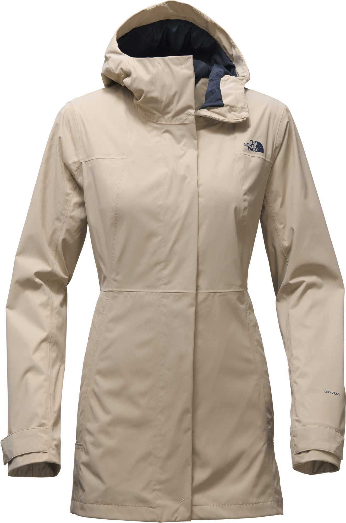 3e8e3ffbbaf4d The North Face Women s City Midi Trench Rain Jacket