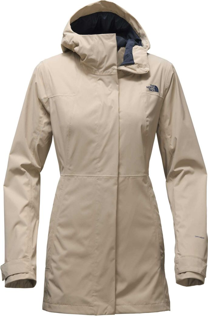 f87192934 The North Face Women's City Midi Trench Rain Jacket
