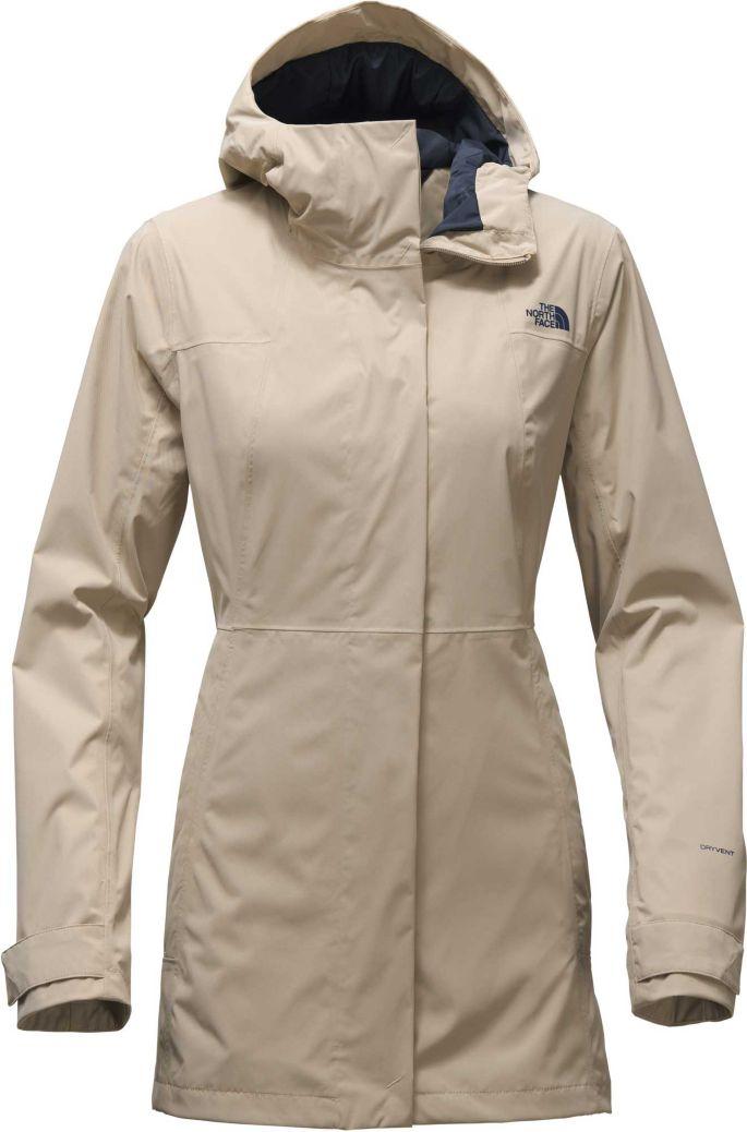 c9ec08ec0 The North Face Women's City Midi Trench Rain Jacket