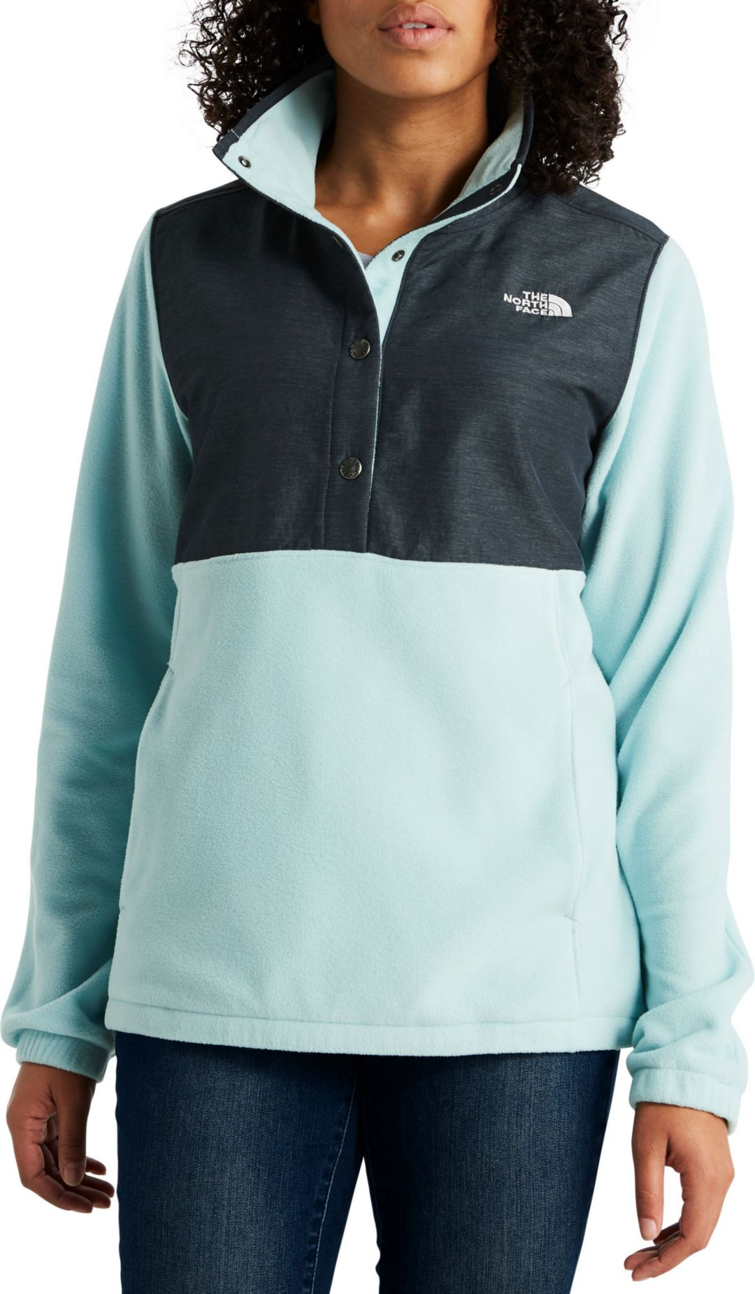 separation shoes 62365 9e19d The North Face Women's Snap It Fleece Pullover