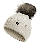 387c2a2c103ee Product Image · The North Face Women s Oh-Mega Fur Pom Beanie. Vintage White