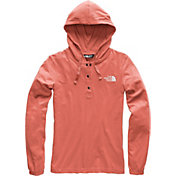 The North Face Women's Heavyweight Cotton ¼ Snap Hoodie