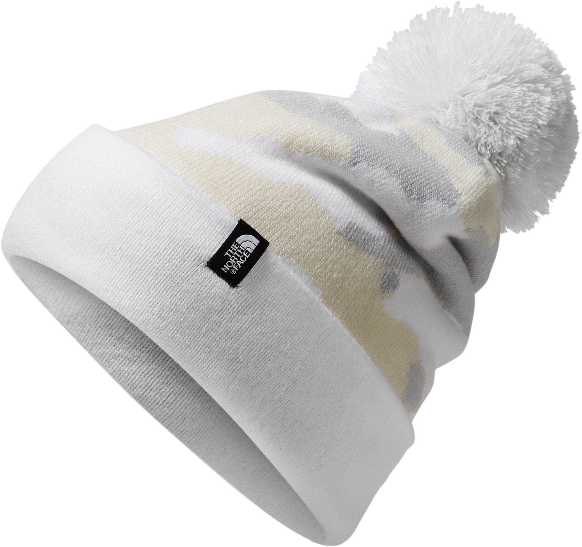 The North Face Women's Ski Tuke V Beanie, Size: One size, Tnf White Waxed Camo Prnt