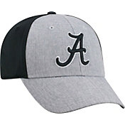 Top of the World Men's Alabama Crimson Tide Grey/Black Faboo 1Fit Hat