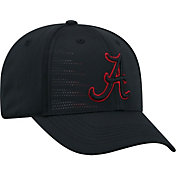 Top of the World Youth Alabama Crimson Tide Dazed 1Fit Flex Black Hat