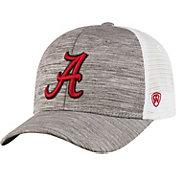 Top of the World Men's Alabama Crimson Tide Grey Warmup Adjustable Hat