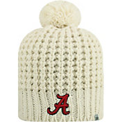 Top of the World Women's Alabama Crimson Tide Slouch White Knit Beanie