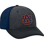 Top of the World Men's Auburn Tigers Grey/Blue Reach 1Fit Flex Hat