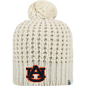 Top of the World Women's Auburn Tigers Slouch White Knit Beanie