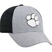 Top of the World Men's Clemson Tigers Grey/Black Faboo 1Fit Hat