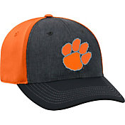 Top of the World Men's Clemson Tigers Grey/Orange Reach 1Fit Flex Hat