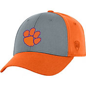 Top of the World Men's Clemson Tigers Grey/Orange Two Tone Adjustable Hat