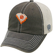 Top of the World Men's Clemson Tigers Grey United Adjustable Snapback Hat