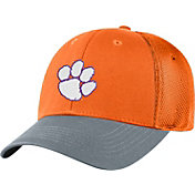 Top of the World Men's Clemson Tigers Orange Twill Elite Mesh 1Fit Flex Hat