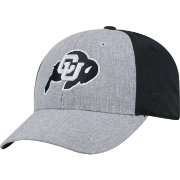 Top of the World Men's Colorado Buffaloes Grey/Black Faboo 1Fit Hat