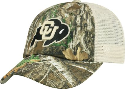 4e3a611be37 Top of the World Men s Colorado Buffaloes Camo Sentry Adjustable Hat.  noImageFound