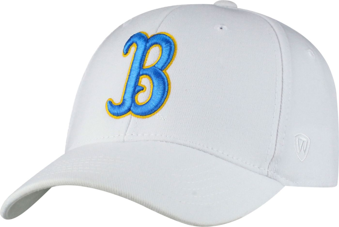 Top of the World Men's UCLA Bruins White Premium Collection M-Fit Hat