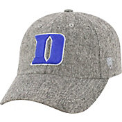 Top of the World Men's Duke Blue Devils Grey Jones Adjustable Hat