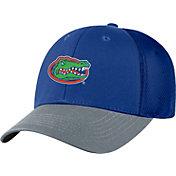 Top of the World Men's Florida Gators Blue Twill Elite Mesh 1Fit Flex Hat