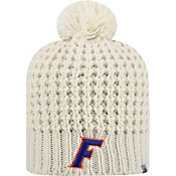 Top of the World Women's Florida Gators Slouch White Knit Beanie