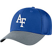 Top of the World Men's Air Force Falcons Blue Twill Elite Mesh 1Fit Flex Hat