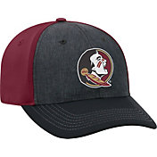 Top of the World Men's Florida State Seminoles Grey/Garnet Reach 1Fit Flex Hat