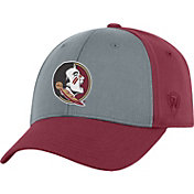Top of the World Men's Florida State Seminoles Grey/Garnet Two Tone Adjustable Hat