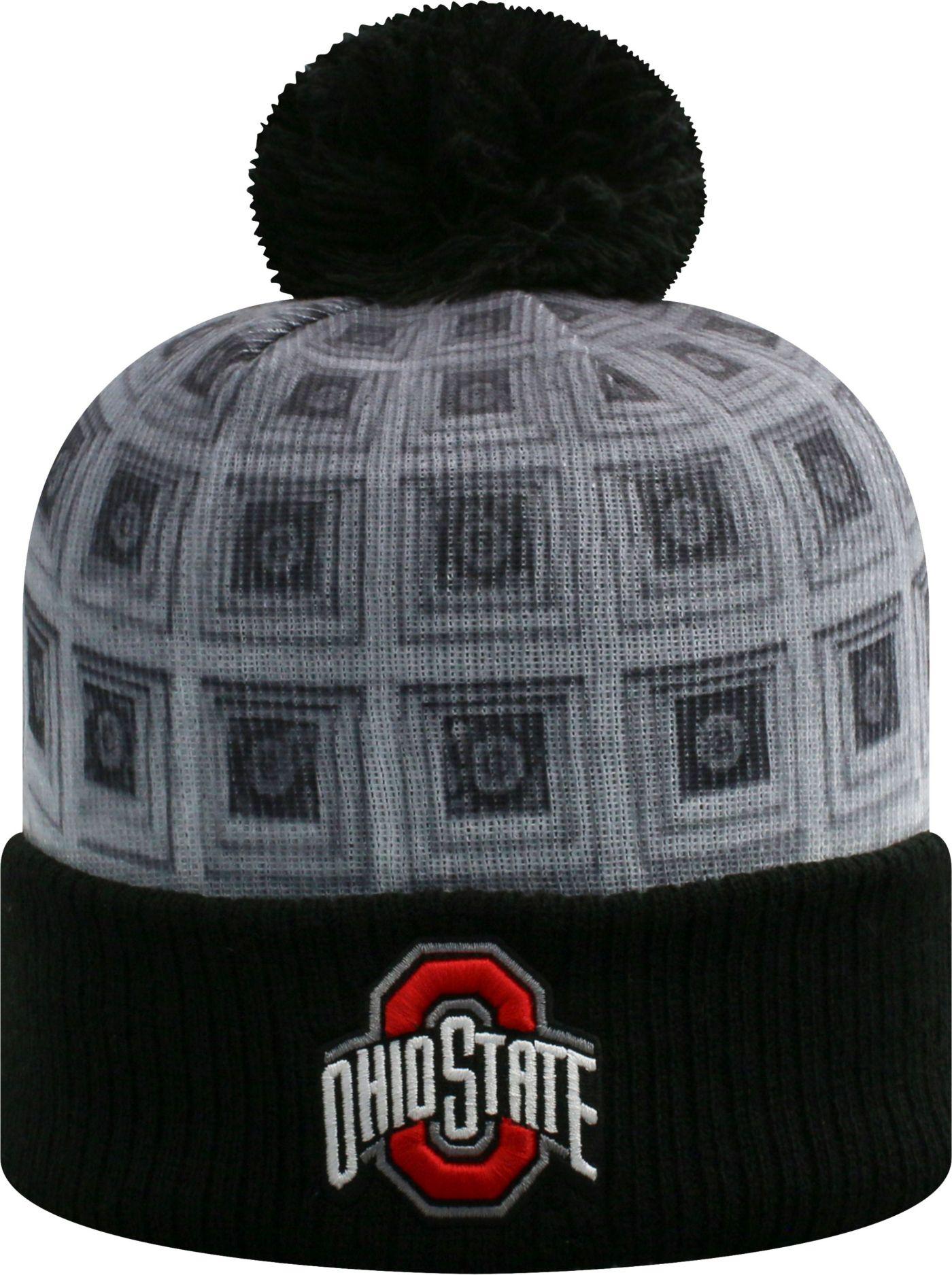 OSU Men's Ohio State Buckeyes 'The Shoe' Knit Beanie