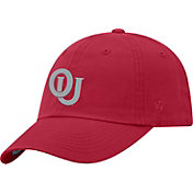 Top of the World Men's Oklahoma Sooners Crimson Staple Vintage Patch Adjustable Hat