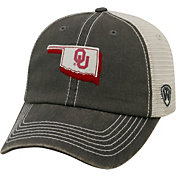 Top of the World Men's Oklahoma Sooners Grey United Adjustable Snapback Hat