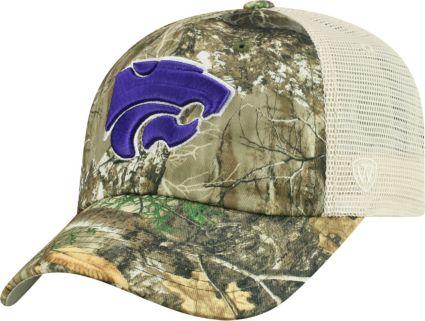 premium selection 2b2d9 23580 Top of the World Men s Kansas State Wildcats Camo Sentry Adjustable Hat