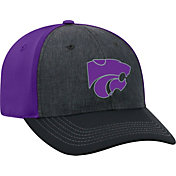 Top of the World Men's Kansas State Wildcats Grey/Purple Reach 1Fit Flex Hat