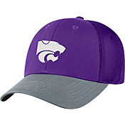 Top of the World Men's Kansas State Wildcats Purple Twill Elite Mesh 1Fit Flex Hat