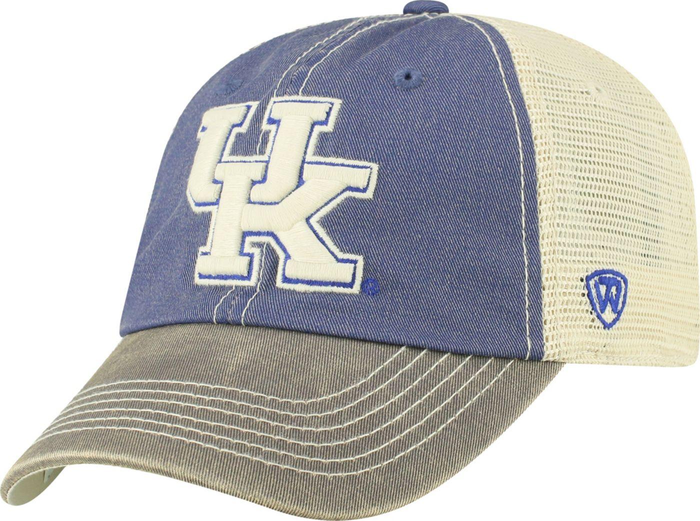 Top of the World Men's Kentucky Wildcats Blue Off Road Adjustable Hat