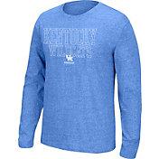 Top of the World Men's Kentucky Wildcats Blue Tri-blend Long Sleeve Tee
