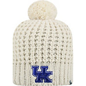 Top of the World Women's Kentucky Wildcats Slouch White Knit Beanie