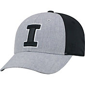 Top of the World Men's Illinois Fighting Illini Grey/Black Faboo 1Fit Hat