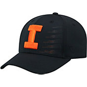 Top of the World Men's Illinois Fighting Illini Dazed 1Fit Flex Black Hat