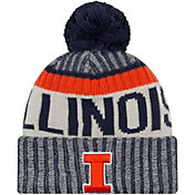 New Era Men's Illinois Fighting Illini Blue Sport Knit Beanie